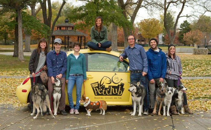 The amazing City Pet Club Team
